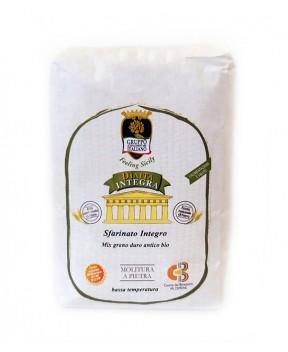 Sfarinato Integro - Mix grano duro antico (varietà antiche) BIO - Dìaita - 1kg
