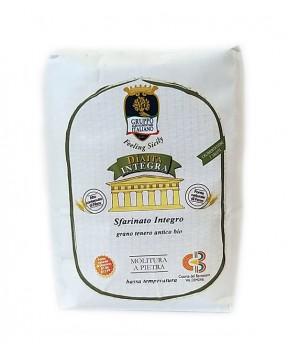 Farina Dìaita - Sfarinato Integro - grano tenero antico - Bio - 1kg
