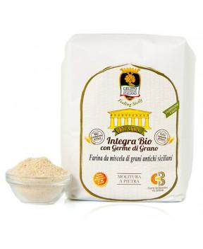 Farina Integra con germe di grano (varietà antiche) BIO - Dìaita - 1kg