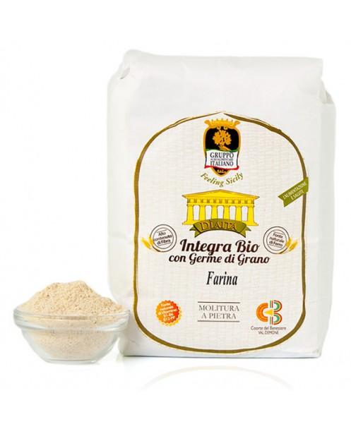 Farina integra al germe di grano (varietà moderne) BIO - Dìaita