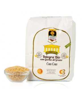 Cous Cous integra con germe di grano duro siciliano (varietà antiche) - Diaita - 1kg