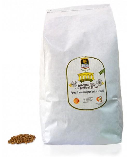 Farina di mescela di grani antichi siciliani (varietà moderne) BIO - Dìaita