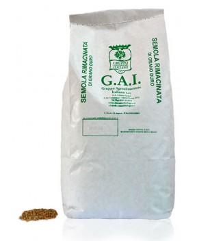 Semola rimacinata di grano duro (varietà moderne) BIO - Dìaita - 1kg