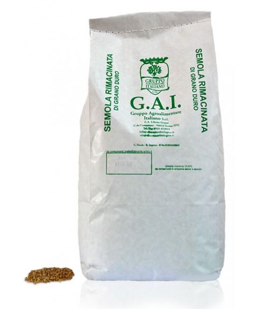 Semola rimacinata di grano duro (varietà moderne) BIO - Dìaita
