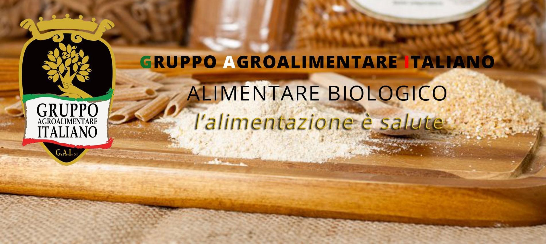 Gruppo Agroalimentare Italiano - Alimentare Biologico - L'alimentazione è salute